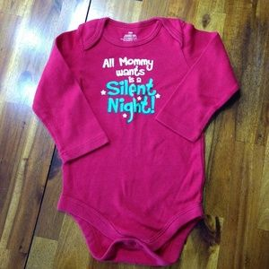 Other - Baby Long Sleeved Onesie 'All Mommy Wants is a Sil